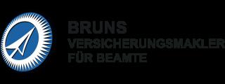 Bruns Logo Bruns Versicherungsmakler für Beamte